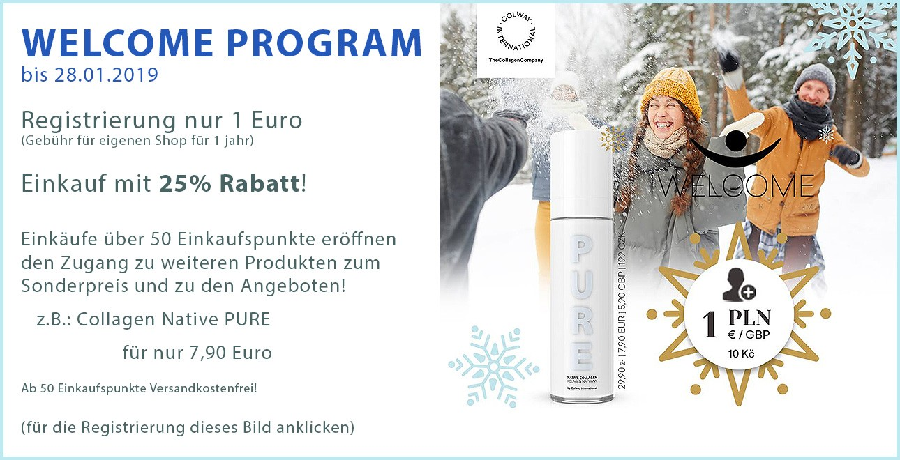 WELCOME PROGRAM JANUAR